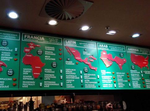 Café Frei's menu