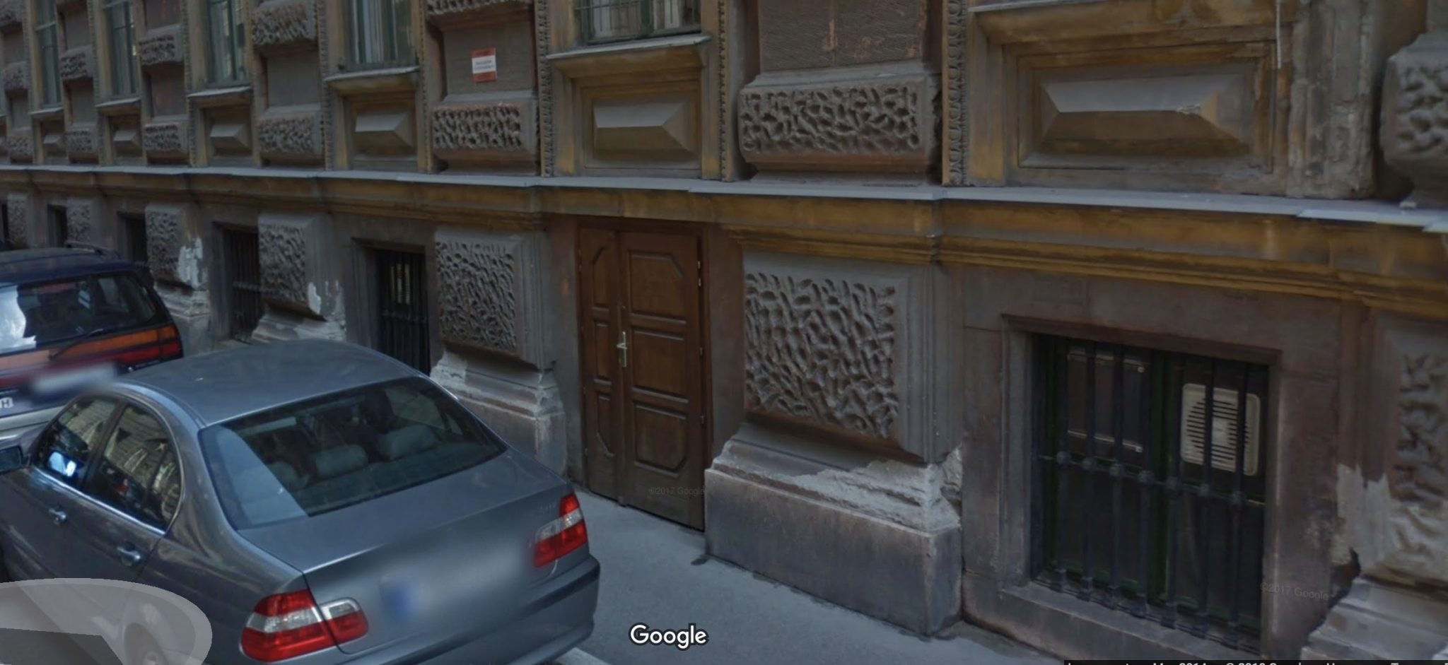 The small front door down to Altair. Courtesy of Google Maps