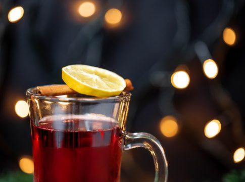A glass of forralt bor, courtesy of wuestenigel