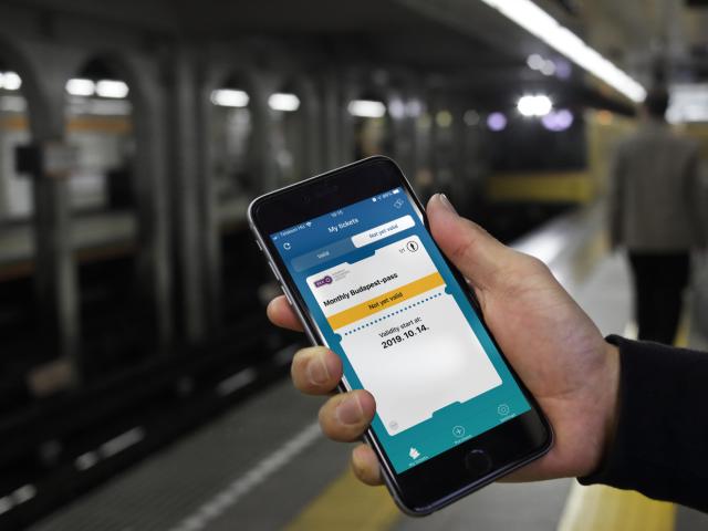 BKK Mobiljegy App