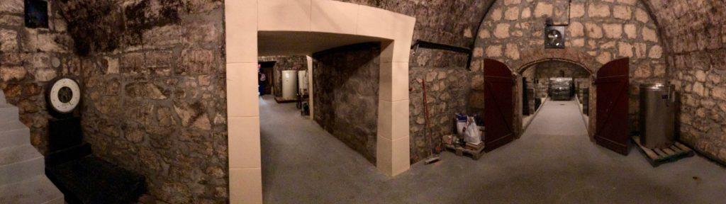 Rokusfálvy wine cellar